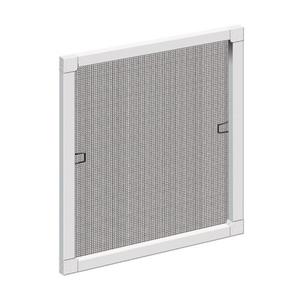 Schellenberg Insektenschutz-Fenster mit Aluminium-Rahmen 120 x 140 cm, Farbe Weiß