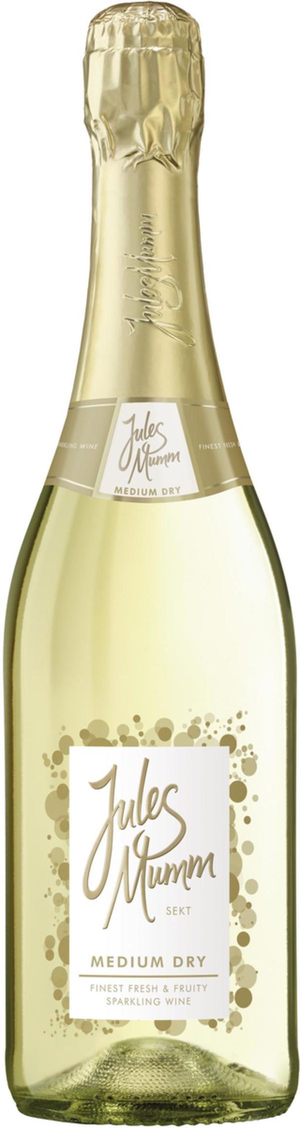 Jules Mumm Sekt Medium Dry 0,75l