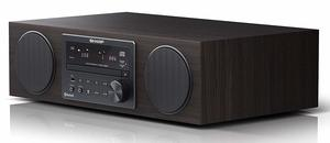 Sharp XL-BB20D FM Audiosystem inklusive CD Player / Bluetooth / DAB / DAB+, 100 W in braun