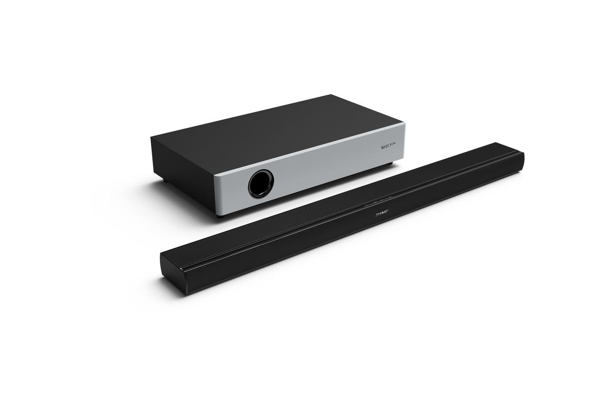 Bild 1 von Sharp HT-SBW160 Bluetooth Soundbar 360 W, Wireless Subwoofer