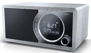 Sharp DR-450 Digital Radio, DAB / DAB+ / FM Radio / Bluetooth, 6 W in grau