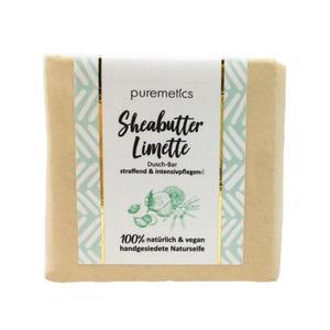 puremetics Naturseife Dusch-Bar Sheabutter Limette