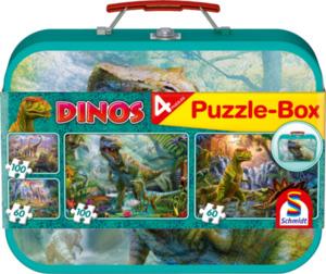 Puzzle-Box - Dinos - 4-in-1