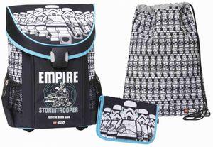 Schulranzen Set LEGO®Star Wars(TM) - Stormtrooper -  EASY - 3-teilig
