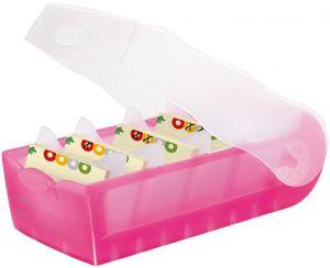 Karteikartenbox CROCO DIN A7 - pink