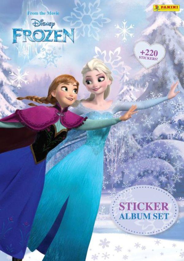 Die Eiskönigin - Sticker-Album-Set