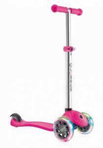 Scooter Globber Primo lights - pink