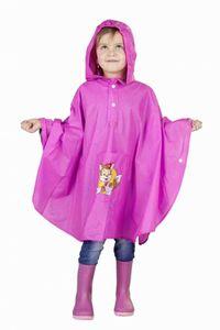 Kinder Regen-Poncho - pink