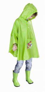 Kinder Regen-Poncho - grün