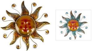 Wanddeko - Sonne - aus Metall - Ø = 38,5 cm - 1 Stück