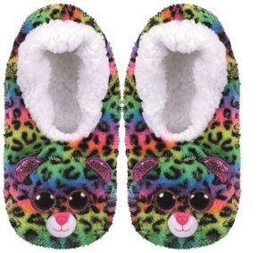 Beany Boo - Hausschuhe - Leopard Dotty - Größe 32-34