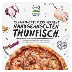 Gustavo Gusto Pizza Tonno e Cipolla 475g