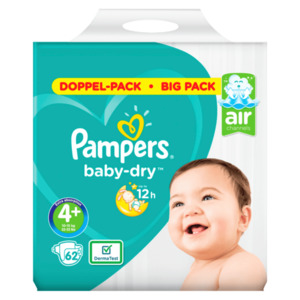 Pampers BABY DRY Windeln BD M7 S4P 2X62 DUO WE P2