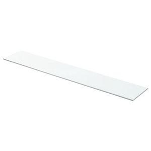 Glasboden - weiß - 160x40 cm