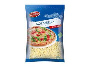 Mozzarella, gerieben