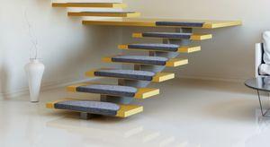 Dekor Stufenmatten-Set, 15-teilig, anthrazit