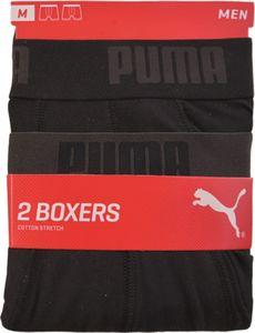 Puma Retro Short, 2er Pack - Schwarz, Gr. M
