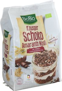 BioBio Knusper Müsli Schoko-Amaranth 500 g