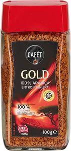 Cafét Gold 100% Arabica entkoffeiniert, 100g