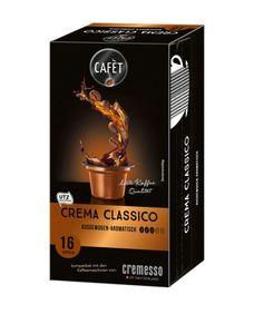 Cafet für Cremesso Crema Classico 16er, 88g