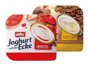 Joghurt mit der Ecke
