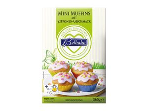 Backmischung Mini-Muffins