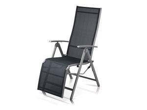 FLORABEST Relaxsessel Aluminium, grau