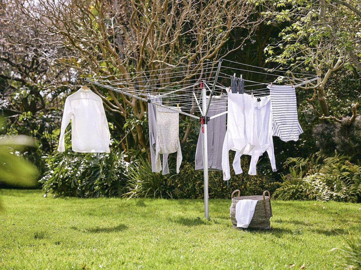 Bild 5 von AQUAPUR® Aluminium-Wäschespinne