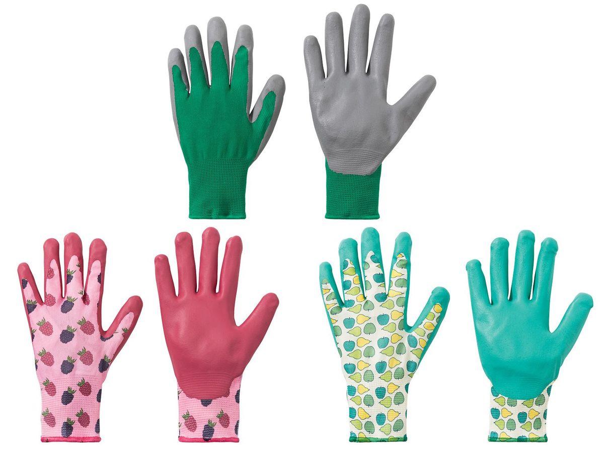 Bild 1 von FLORABEST® 3 Paar Gartenhandschuhe