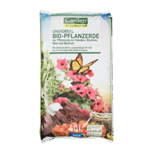 GARDEN FEELINGS  	   Bio-Pflanzerde
