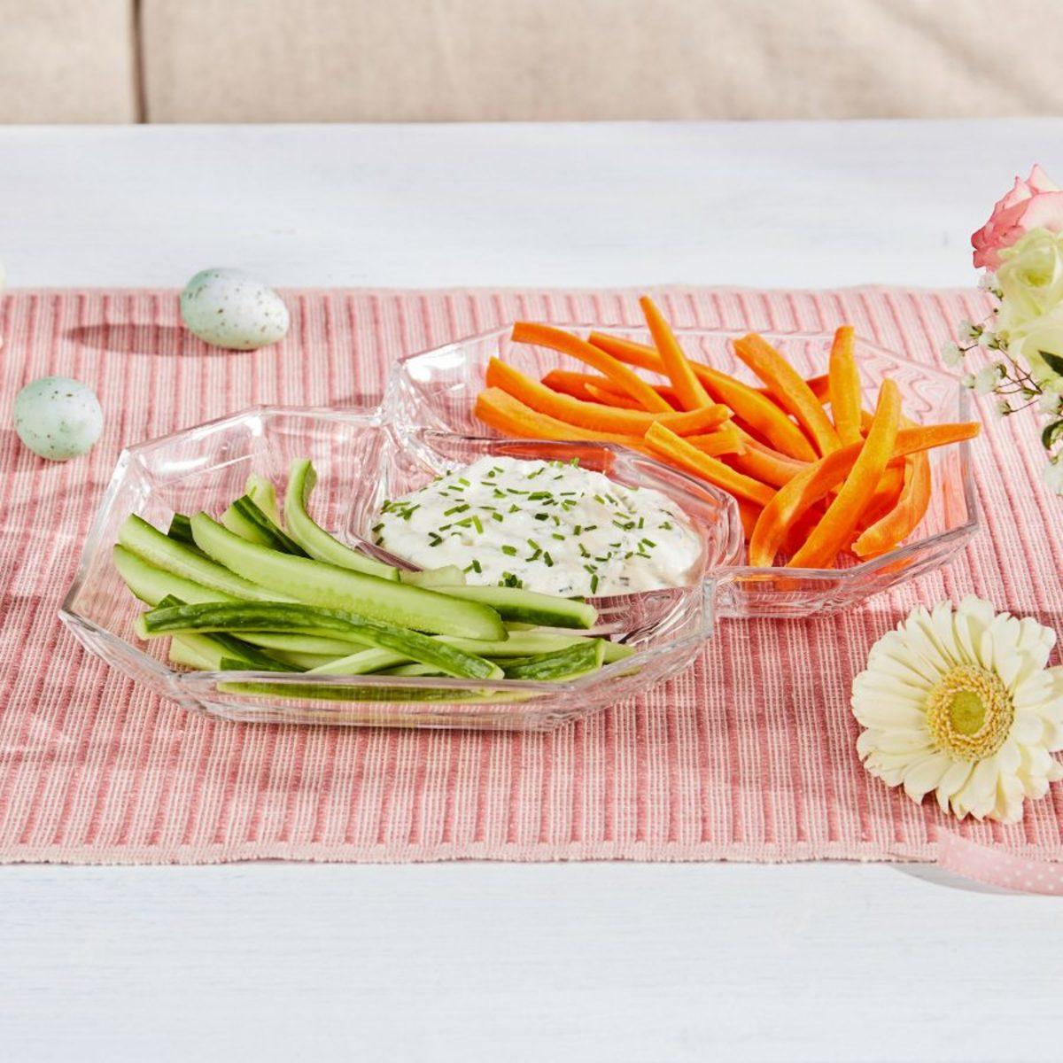 Bild 4 von HOME CREATION     Snack- und Dipplatte
