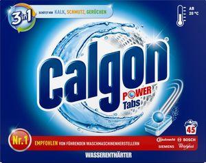 Calgon Wasserenthärter 3in1, 45 Power-Tabs