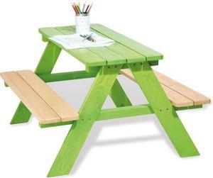 Pinolino Kindersitzgarnitur Nicki für 4 Kinder, grün