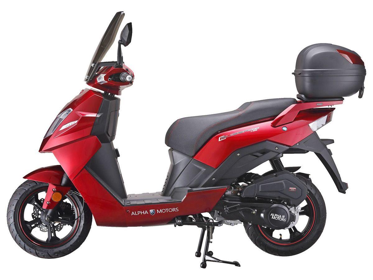 Bild 2 von Alpha Motors Motorroller Cruiser 125 ccm inkl. Topcase