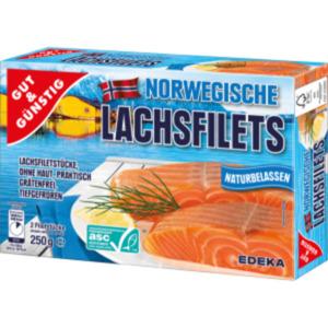Gut & Günstig Norwegische Lachsfilets