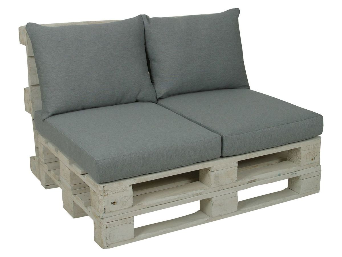 Bild 3 von GO-DE Textil Lounge Paletten-Kissen 2er Set