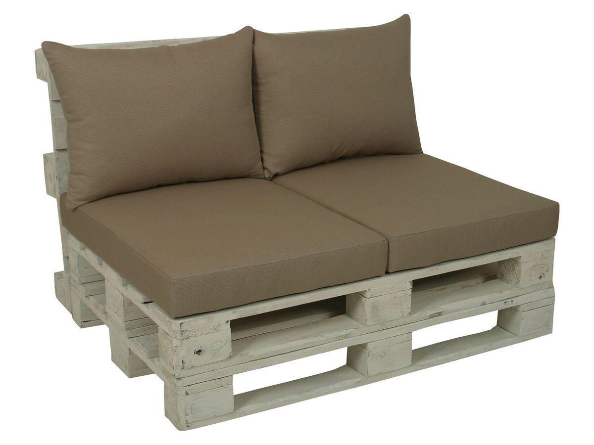 Bild 4 von GO-DE Textil Lounge Paletten-Kissen 2er Set