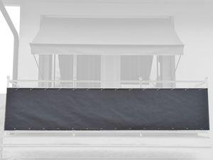 Angerer Balkonbespannung einfarbig dunkelgrau