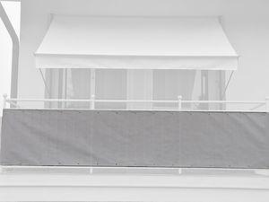 Angerer Balkonbespannung einfarbig beige