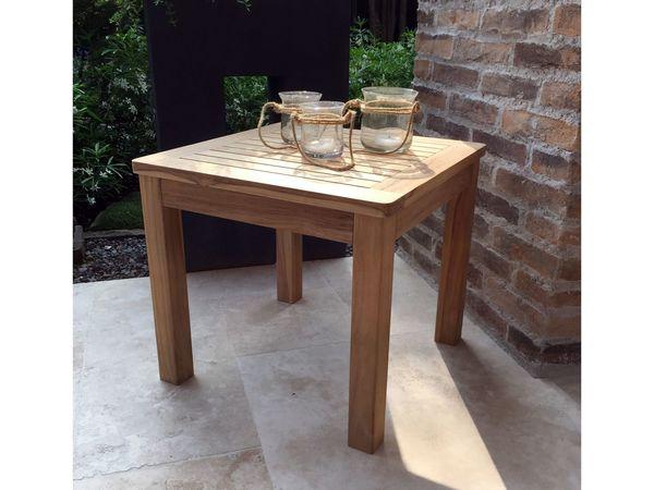 Grasekamp Couchtisch 50x50 Cm Kaffeetisch Gartenmöbel Möbel