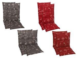 GO-DE Textil Sessel-Auflage Garden Flowers 2er Set
