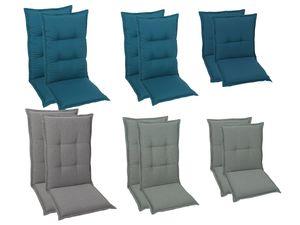 GO-DE Textil Sessel-Auflage 2er Set