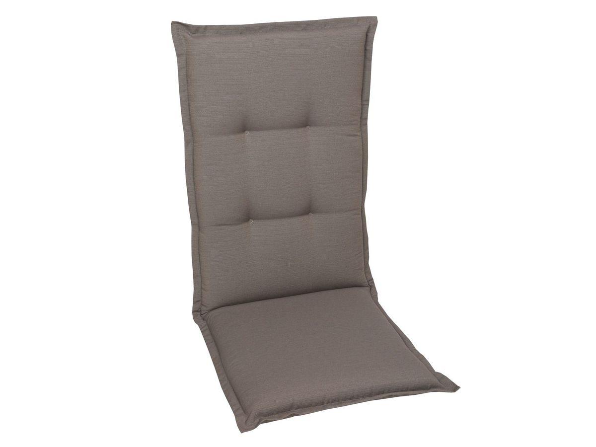 Bild 2 von GO-DE Textil Sessel-Auflage taupe 2er Set