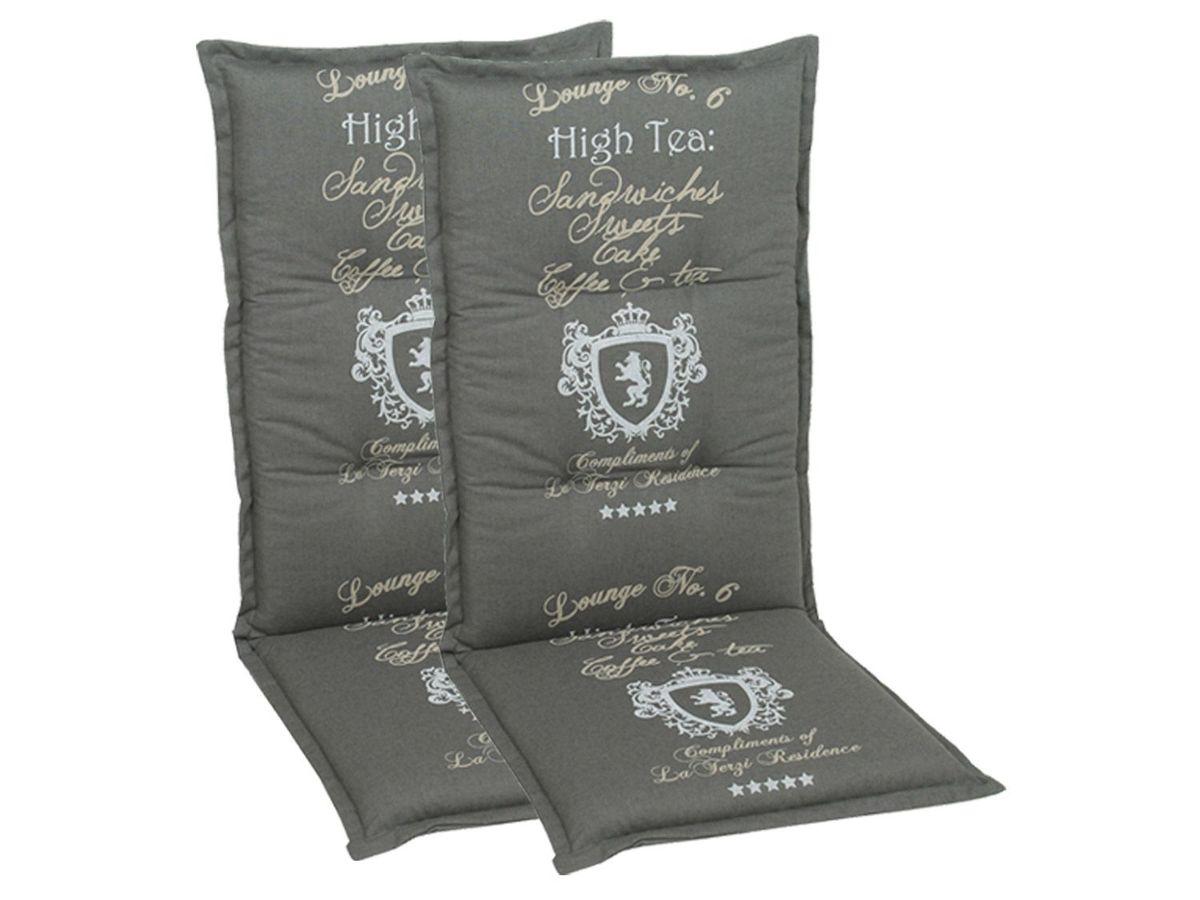 Bild 3 von GO-DE Textil Sessel-Auflage High Tea 2er Set