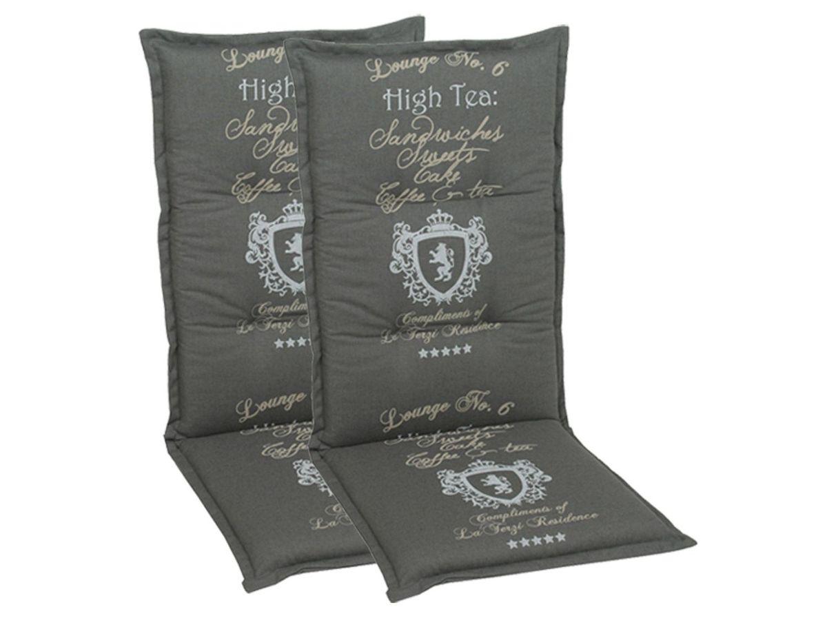 Bild 5 von GO-DE Textil Sessel-Auflage High Tea 2er Set