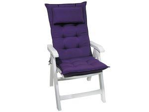 SUN GARDEN Luxus Sesselauflage hoch 9 cm