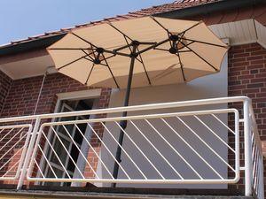 Leco Balkon-Ovalschirm