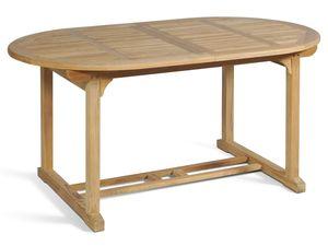 Garden Pleasure Tisch SOLO, ausziehbar, oval, Teak