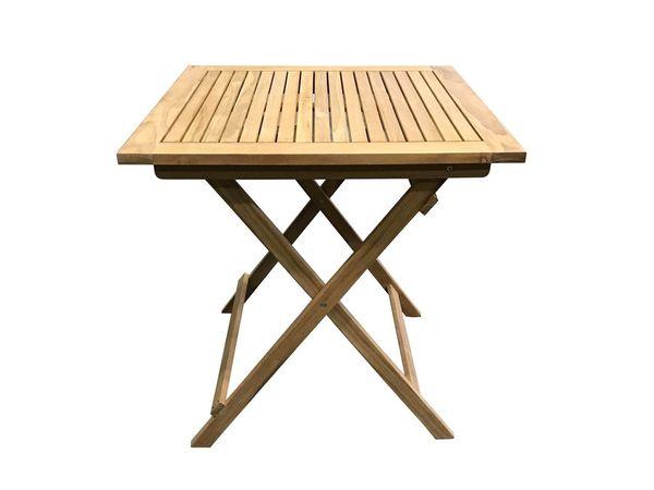 Lidl Balkontisch.Grasekamp Teak Tisch 70x70cm Gartentische Bistrotisch
