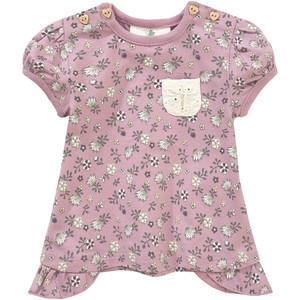 Newborn T-Shirt mit floralem Print